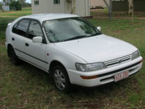 Australien Backpacker Auto: