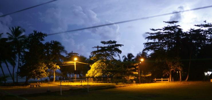 Gewitter bei Nacht Costa Rica