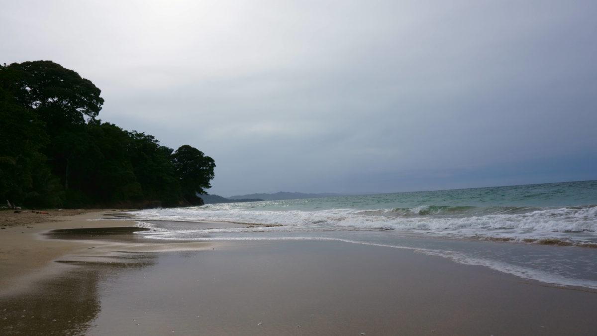 Leere Strände Costa Rica